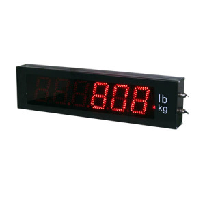 808HA Large Display, Aluminum, LED 6-Digit Display, IP65