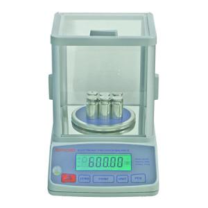 EB200 Precision Balance, Division 0.01g, LCD 6-Digit Display, 16 Units of Measurement, RS-232 Communication Port