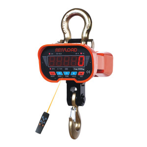 OCSA3 General Purpose Crane Scale with Infrared Remote Control, LED Display, CE Certified