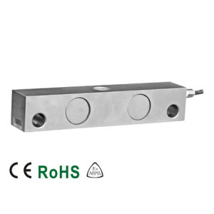 102EHEL Double Ended Beam Load Cell, Alloy Steel, Environmentally Sealed, IP67