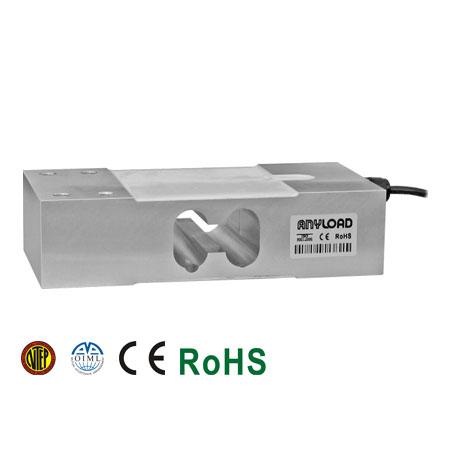108JA Single Point Load Cell, Aluminum, Environmentally Sealed, IP66