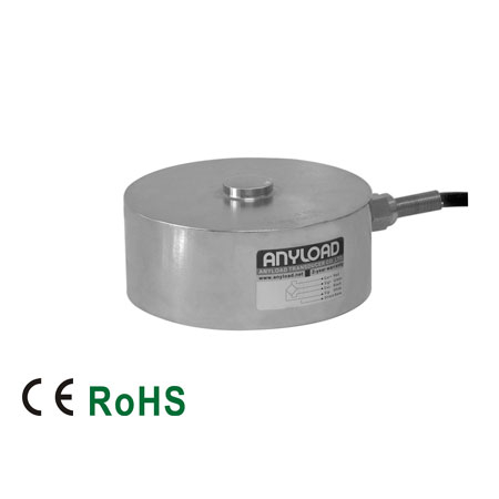 266AH Compression Load Cell, Alloy Steel, Welded Seal, IP67