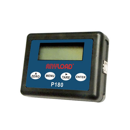 P180 Wireless Display for OCSD Dynamometer, LCD 5-Digit Display with Backlight