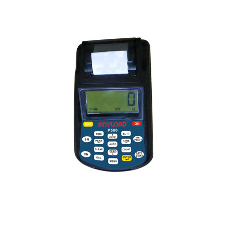 P580 Wireless Display for OCSD Dynamometer, LCD 5-Digit Display with Backlight