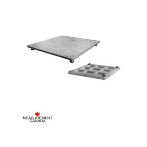 ANYLOAD | FSP-SS Stainless Steel Floor Scale, Measurement Canada Approved Floor Scale