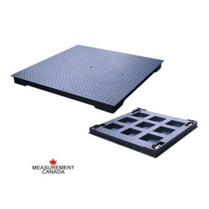 ANYLOAD | FSP-HD Heavy Duty Mild Steel Floor Scale, Measurement Canada Approved Floor Scale