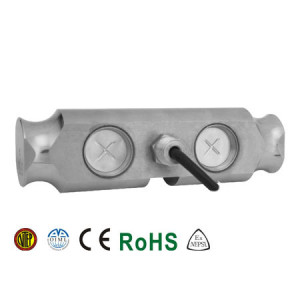 102FS Double Ended Beam Load Cell, Stainless Steel, Welded Seal, IP68