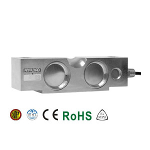 102BS Double Ended Beam Load Cell, Stainless Steel, Welded Seal, IP68