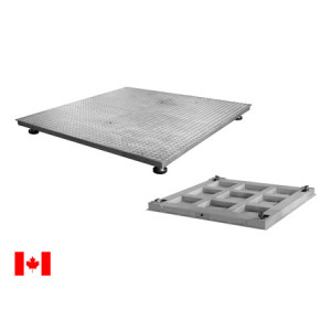 ANYLOAD FSP-SS-S4 Stainless Steel Floor Scale, Measurement Canada Approved Floor Scale