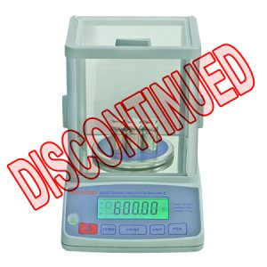 EB200 Precision Balance, Division 0.01g, LCD 6-Digit Display, 16 Units of Measurement, RS-232 Communication Port