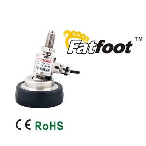 ANYLOAD | 106MS-F Fatfoot Load Cell with Fixed Cable, Stainless Steel, Welded Seal, IP67