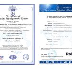 Anyload ISO and RoHS Renewal 2017