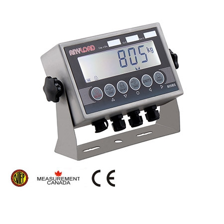 ANYLOAD | 805BS-B-17 Digital Weight Indicator, LCD Display, Stainless Steel, NTEP and Measurement Canada Certified