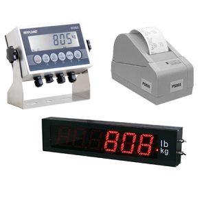 Indicators, Displays and Printers