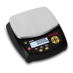 EB300 Precision Balance with Visual and Acoustic Anunciators, LCD 6-Digit Display, RS-232 Communication Port