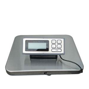 ES300 Postal and Shipping Scale, ABS Enclosure, Stainless Steel Platter, LCD 5-Digit Display