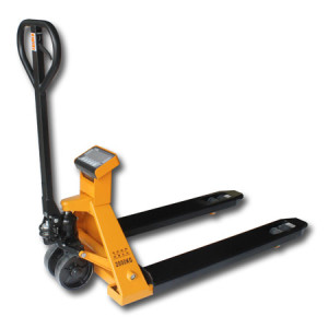 "NPS-55H-5Klb Pallet Jack Scale, 55"" Fork Width, 5Klb Capacity, LED 6-Digit Weight Indicator"