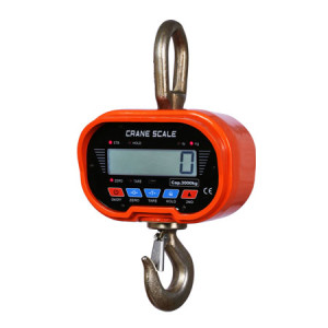 OCSC4 Enhanced Crane Scale with Infrared Remote Control, LCD Display, CE Certified