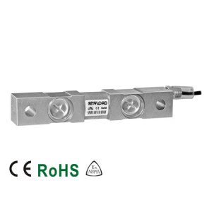 102ES Double Ended Beam Load Cell, Stainless Steel, Welded Seal, IP68