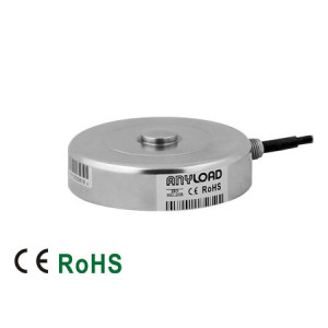 266ASPT Compression Load Cell, Stainless Steel, Welded Seal, IP68