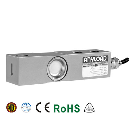 563YH Single Ended Beam Load Cell, Alloy Steel, Environmentally Sealed, IP67