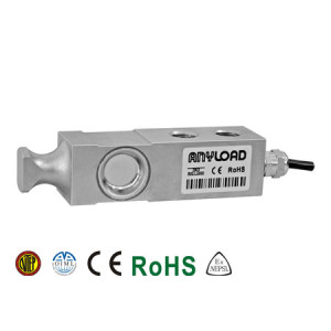 563YHRT Single Ended Beam Load Cell, Alloy Steel, Environmentally Sealed, IP67