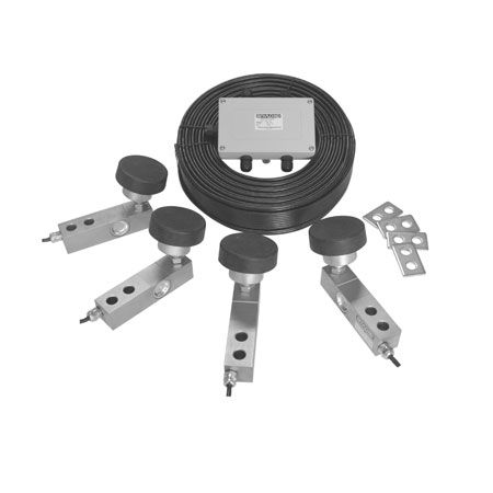 QS1 Load Cell Kit, Alloy Steel, Full Scale Output: 3mV/V, NTEP Certified Load Cells