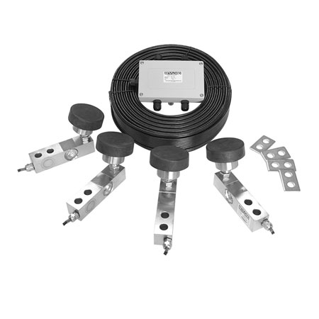 QS5 Load Cell Kit, Stainless Steel, Full Scale Output: 3mV/V, NTEP Certified Load Cells