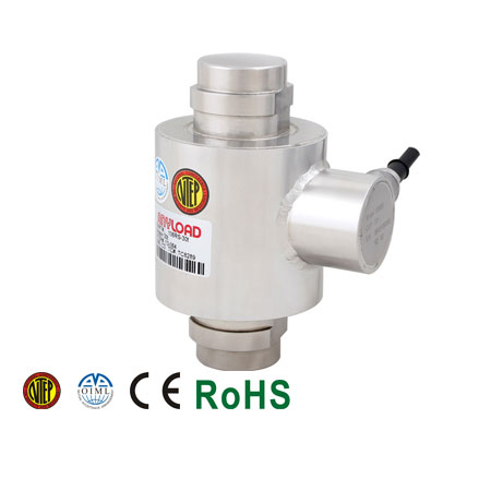 106RS Canister Load Cell, Stainless Steel, Welded Seal, IP68