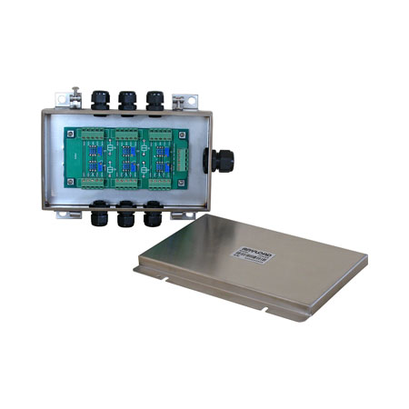 J06ES and J06SS Load Cell Junction Box, Stainless Steel SS304, IP65