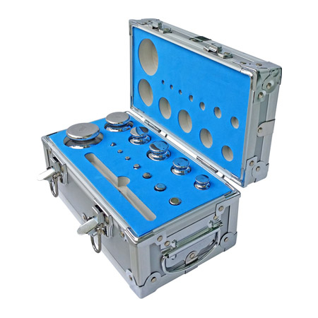 TWSM1 Complete Test Weight Set (1g-1kg), Stainless Steel, M1 Accuracy Class