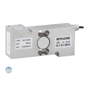 651KSGS Single Point Load Cell, Stainless Steel, Environmentally Sealed, IP66
