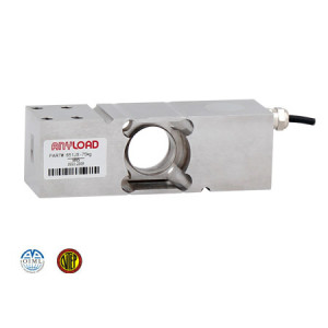 651JS Single Point Load Cell, Stainless Steel, Welded Sealed, IP68