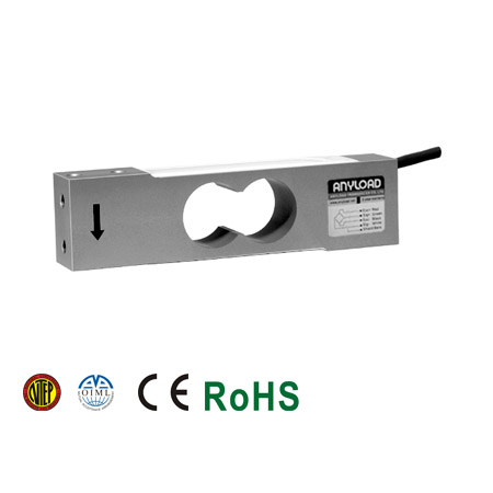 108TA Single Point Load Cell, Aluminum, Environmentally Sealed, IP66