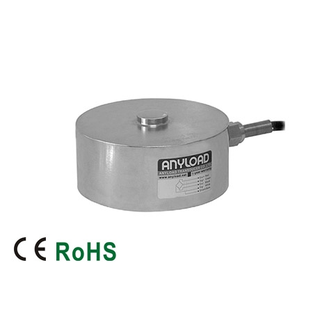 266AS Compression Load Cell, Stainless Steel, Welded Seal, IP68