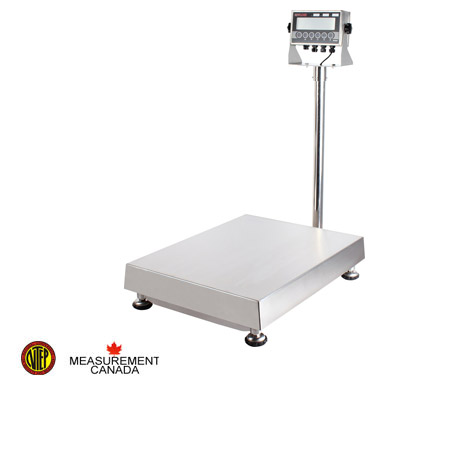 TNS Bench Scale, Heavy Gage Stainless Steel Construction
