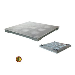 ANYLOAD | FSP-GH Hot Dip Galvanized Heavy Duty Mild Steel Floor Scale, NTEP Approved Floor Scale