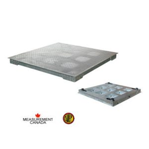 ANYLOAD | FSP-GI Hot Dip Galvanized Mild Steel Floor Scale, Measurement Canada and NTEP Approved Floor Scale