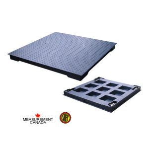 ANYLOAD | FSP-HD Mild Steel Floor Scale, Measurement Canada and NTEP Approved Floor Scale