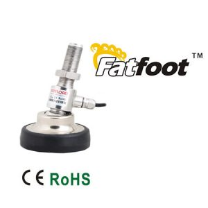 ANYLOAD | 106MH-ES-F Fatfoot Load Cell with Fixed Cable, Stainless Steel, Welded Seal, IP67
