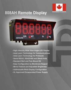 The New Anyload 808AH Remote Display