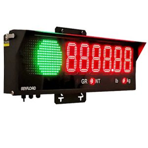 ANYLOAD | 808BH Remote Display with Traffic Light