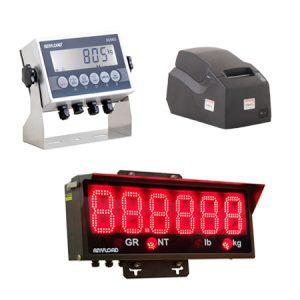 Indicators, Remote Displays and Printers