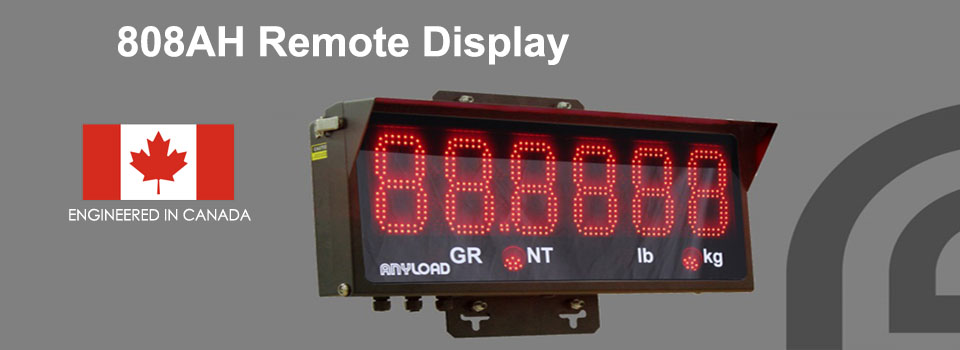 ANYLOAD | 808AH Remote Display