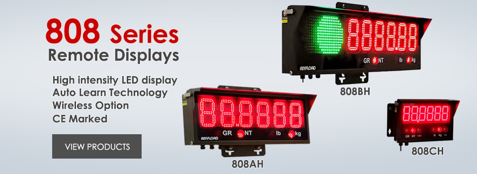 ANYLOAD | 808 Series Remote Displays
