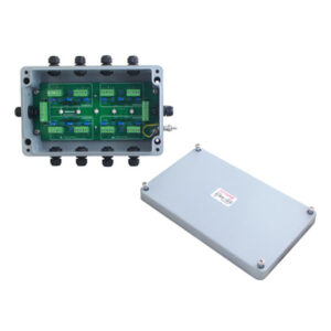 ANYLOAD | J08SP-E Load Cell Junction Box, Fiberglass Reinforced Polyester, IP67